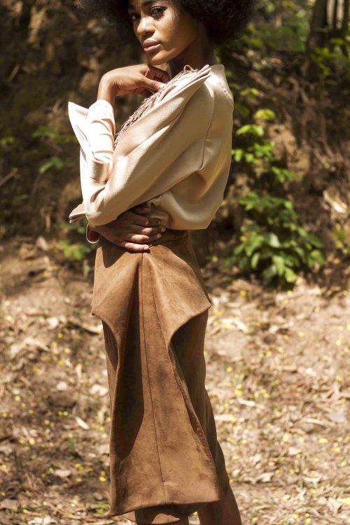 winged skirt