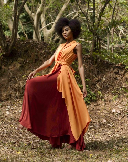 Mata multicoloured dress