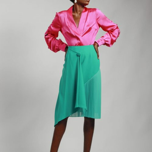 Santin pink blouse
